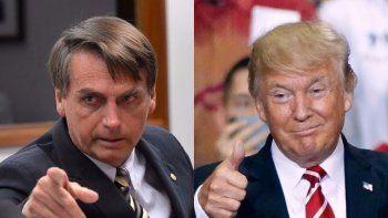 bolsonaro hara acuerdos de defensa con trump