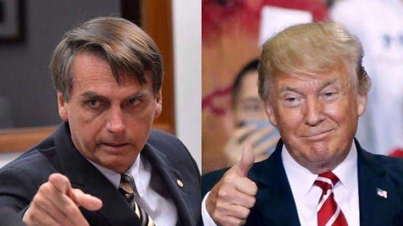 Bolsonaro hará acuerdos de defensa con Trump