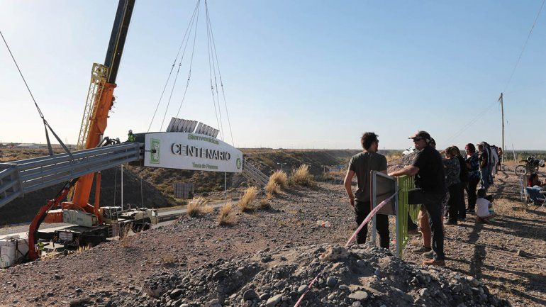 ¿El arco de Centenario está listo para ser instalado?