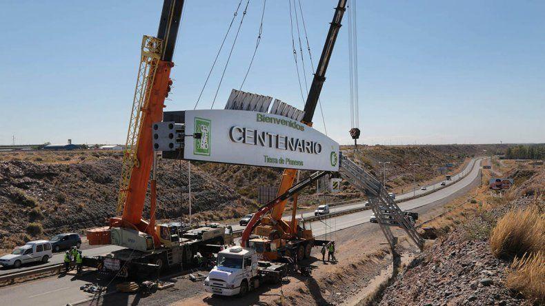 Bertoldi sobre el arco de Centenario: Por el momento la idea es no colocarlo