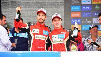 rally argentino: podio de suriani en el debut
