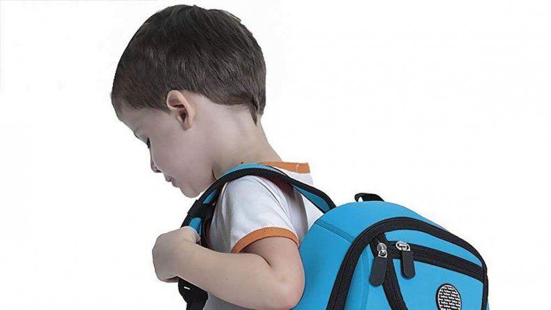 No hay que cargar la mochila por más de 15 minutos