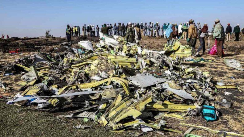 Encontraron las cajas negras del avión de Ethiopian