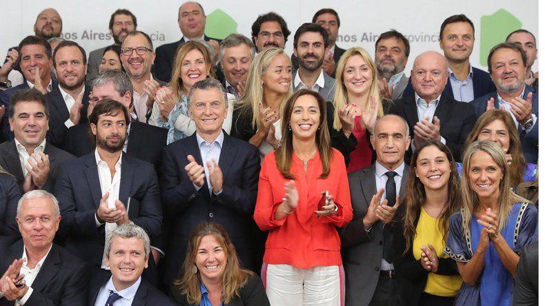 Macri, presente en la reunión del gabinete de Vidal