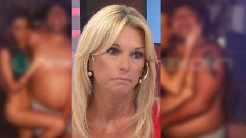 Aparecieron unas polémicas fotos de Maradona y Yanina Latorre lo destrozó