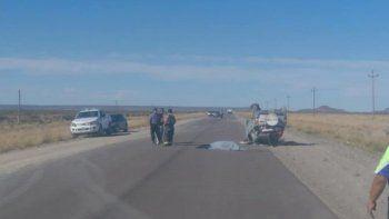 una mujer de 64 anos murio en un vuelco en la ruta 23