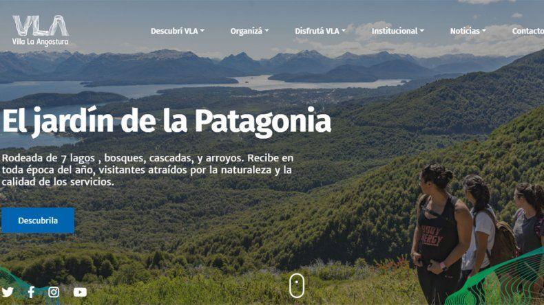 La Angostura tiene nuevo sitio web para los turistas