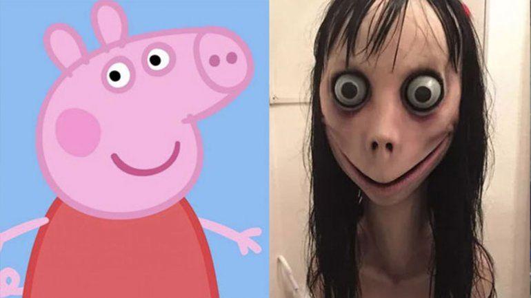 Cuidado: el terrorífico Momo Challenge ahora aparece en videos de Peppa Pig