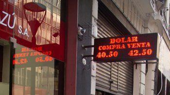 el dolar y las tasas marcaron nueva jornada preocupante