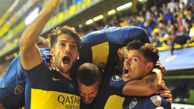 Con un gran segundo tiempo, Boca le ganó 3 a 0 al Tolima