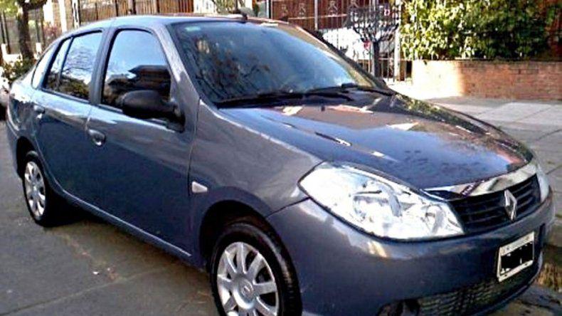 El auto robado en Centenario estaba en la zona oeste