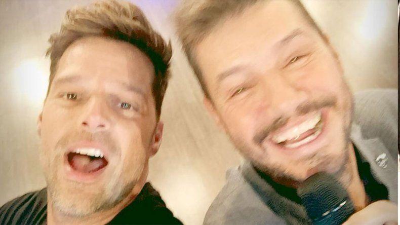 Tinelli contó que está hablando con Ricky Martin para hacer su biopic
