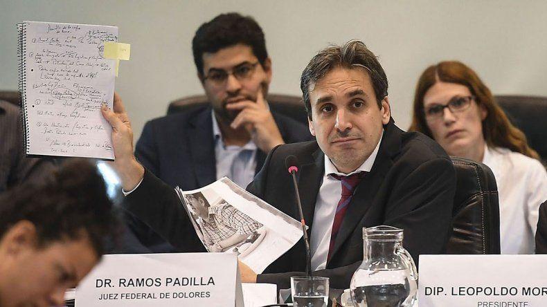 Confirman a Ramos Padilla como juez de la causa del espionaje