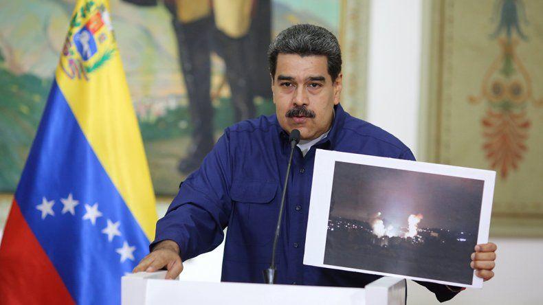 Maduro dijo que el apagón fue superado
