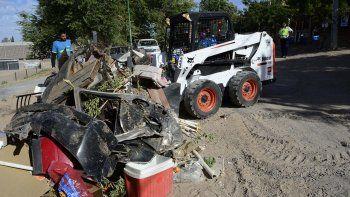 retiran por dia mas de 40 toneladas de basura en el este