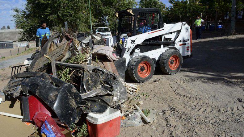 Retiran por día más de 40 toneladas de basura en el este