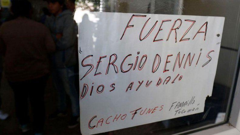 A 48 horas del accidente, Sergio Denis continúa en estado de extrema gravedad