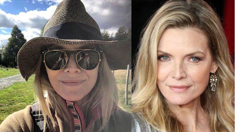 Michelle Pfeiffer vino a la Argentina y se enamoró de la Patagonia