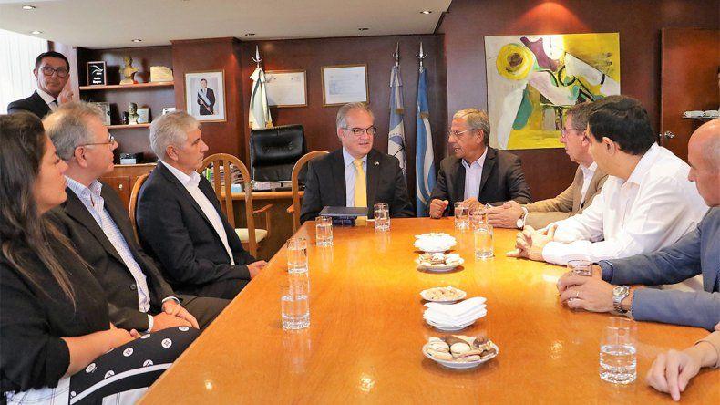 Quiroga recibió al embajador de Alemania, Jürgen Christian Mertens