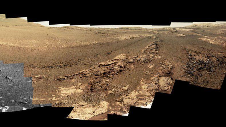 La última fotografía tomada en Marte por Opportunity