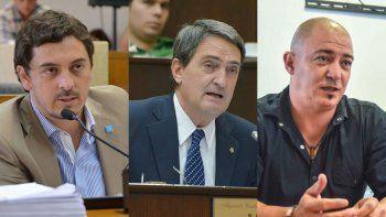 Gastón Contardi, Alejandro Vidal y Sebastián Gamarra fueron sacados del padrón de afiliados de la UCR.