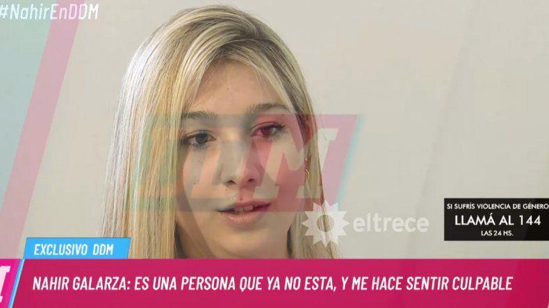 Nahir Galarza: Me gustaría pedirle perdón a Fernando