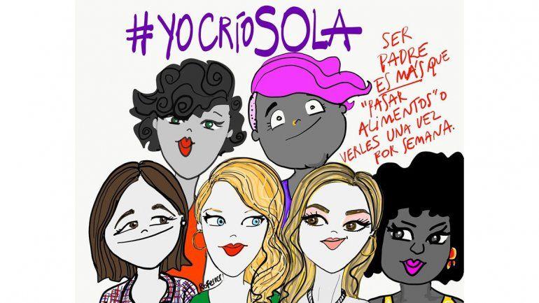 #YoCríoSola, la tendencia que desnudó un drama que atraviesa a miles