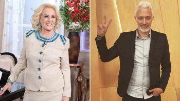 Andy y Mirtha quieren a Alberto Fernández en la mesa de sus programas.