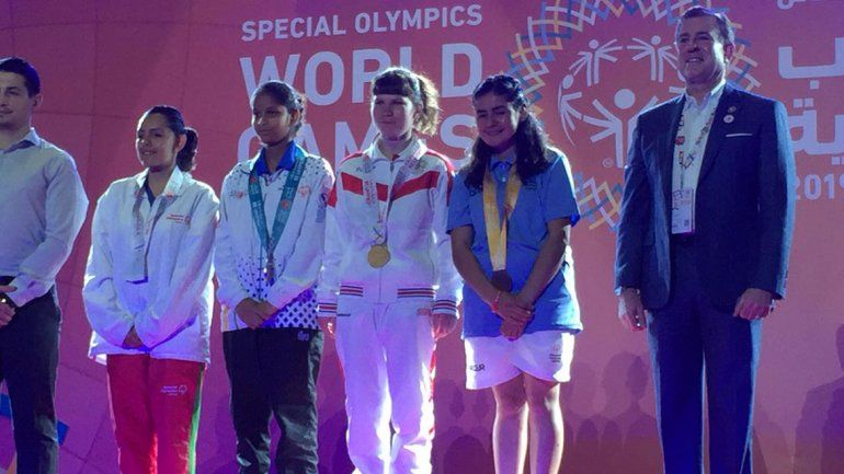 Chicos con discapcidad hicieron podio en Abu Dhabi