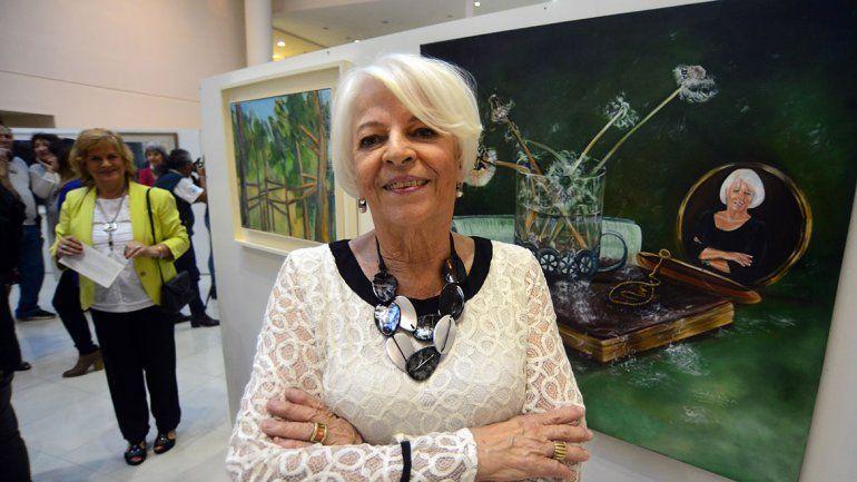 El mundo del arte homenajeó a una periodista de LMN
