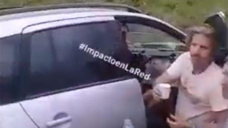 Video: Facundo Arana asistió a víctimas de un choque en Santa Fe