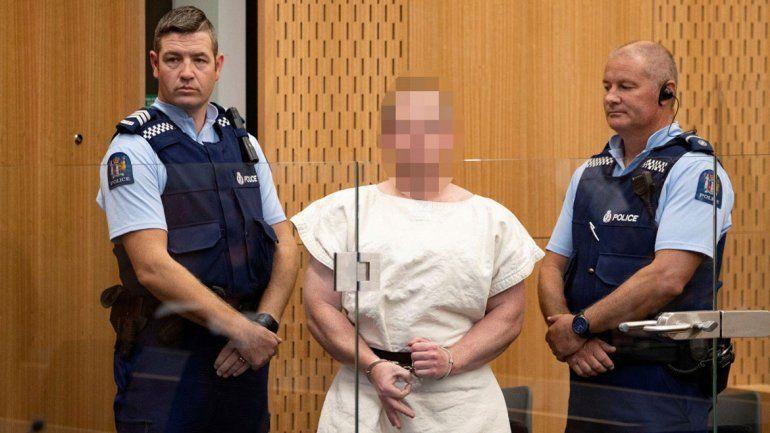 El asesino de Nueva Zelanda hizo un gesto nazi en el Tribunal