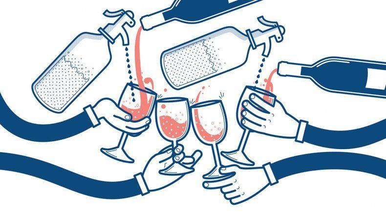 El vino con soda recupera la memoria y su viejo esplendor