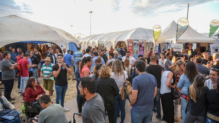Esperan un récord de gente en la Expo Plottier