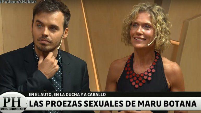 A Maru Botana se le salió la cadena y reveló cuál fue el lugar más loco en el que tuvo sexo