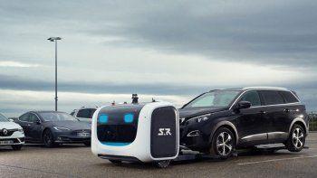 franceses inventaron un robot valet parking