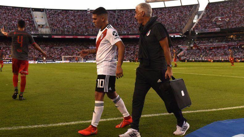 Video: el momento en el que Juanfer Quintero se rompe la rodilla