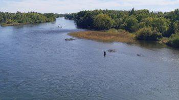 la temporada no termino, pero la gente ya no va al rio