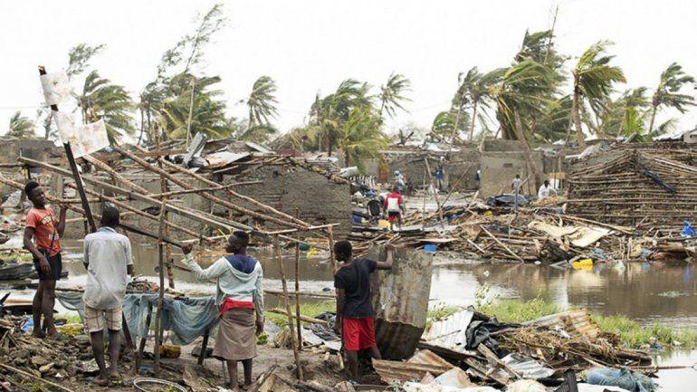 Mozambique: un ciclón dejó decenas de víctimas