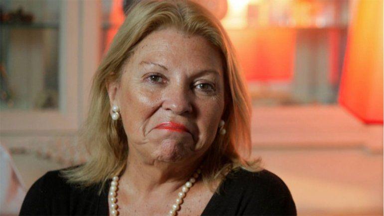 Carrió tildó a Garavano de imbécil y a los Kirchner de monstruos