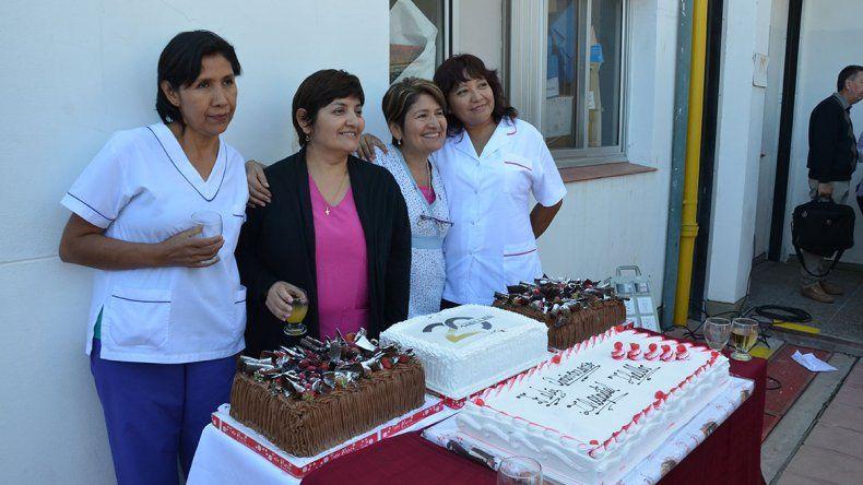 Festejos y emoción en los 20 años  del hospital Heller
