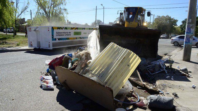 Levantaron menos basura en el barrio Don Bosco III