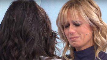 el llanto de mariana fabbiani en una entrevista
