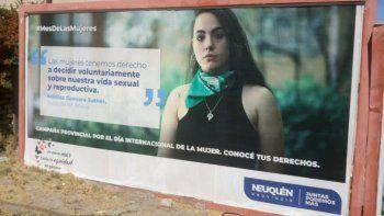 polemica por un afiche del gobierno provincial sobre el aborto