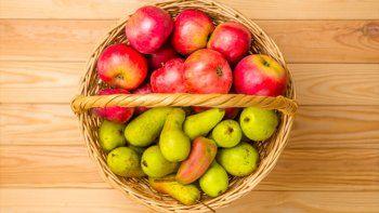 manzanas y peras: un coctel de nutrientes