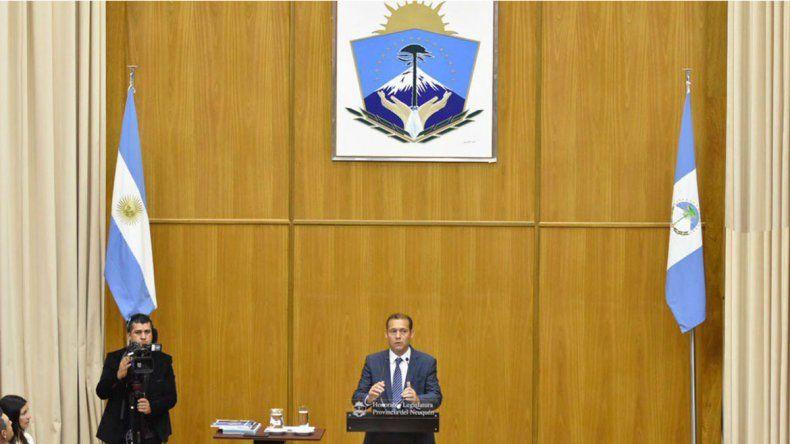Gutiérrez repasó la gestión, presentó proyectos y habló de obras