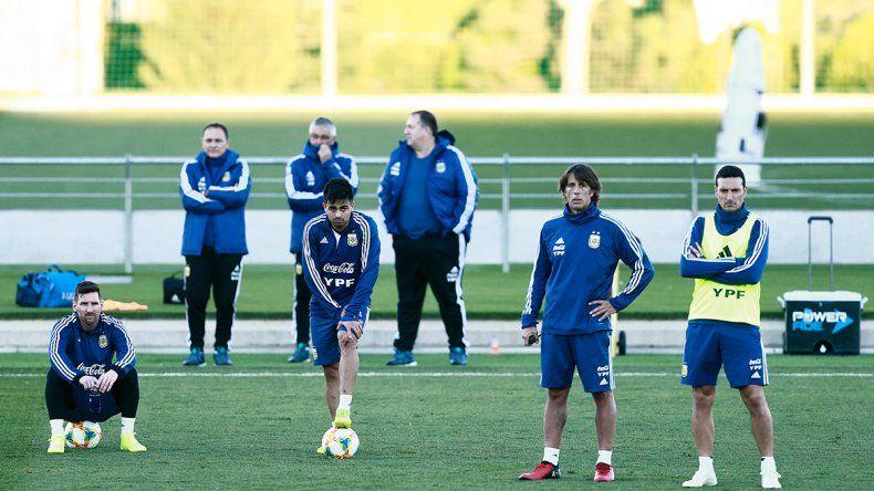 Messi, los tres Martínez y siete más en la Selección
