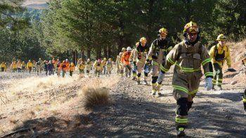 bomberos de todo el mundo, reunidos en junin