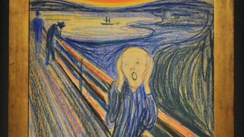 Sorpresa: expertos determinan que la obra El grito no representa tal acción
