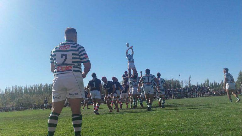 Clásico verde: Marabunta le ganó a Neuquén RC en El Hormiguero